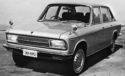 1970 Isuzu Florian De Luxe Sedan Factory Photo J7114