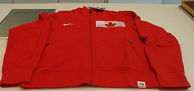 Team Canada 2014 Sochi Olympics S Red Full Zip N98 Track Jacket Hockey New