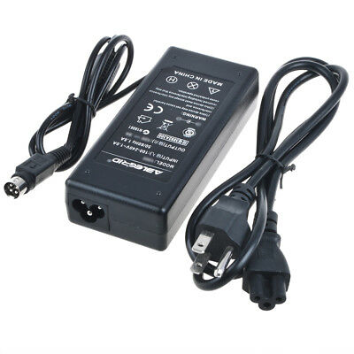 4 Pin AC DC Adapter Power Supply Cord Charger for HP D5063 D5064 LCD Monitor