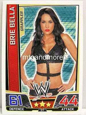 Slam Attax Superstars - #057 Brie Bella