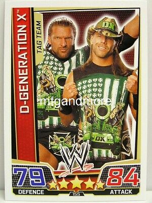 #355 D-Generation X-Live 2018 Slam Attax