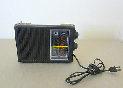 Vintage General Electric GE Battery Electric Radio No. 7 - 2952A Parts / Restore