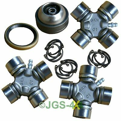Land Rover Discovery 2 Front Propshaft Repair Kit Heavy Duty GKN UJ's