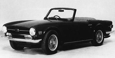 1971 Triumph TR6 PI Factory Photo J7548