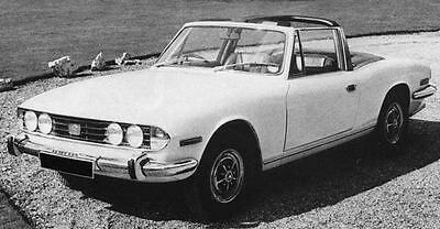 1971 Triumph Stag Factory Photo J7549