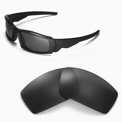 New Walleva Polarized Black Replacement Lenses For Oakley Canteen(2013&before)
