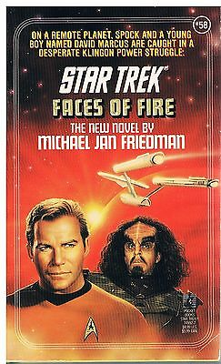 Star Trek: Faces of Fire / Michael Jan Friedman 1992