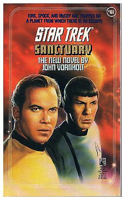 Star Trek: Sanctuary / John Vornholt 1992
