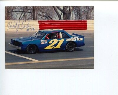 Herb Carlson NASCAR Stock Car Driver Racer Signed Autograph Photo