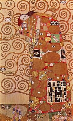 Embrace by Gustav Klimt Giclee Fine Art Print Reproduction on Canvas