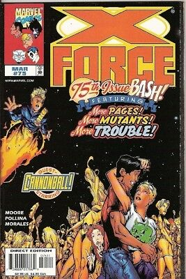 X-Force #75 (Marvel) 1991 Series (Double-Sized)