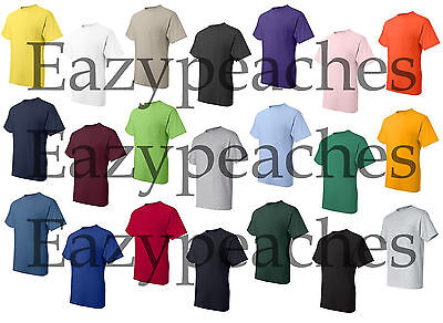 Peaches Pick Mens Tall POCKET Tees LT-2XLT 3XLT 4XLT 50/50 COTTON BLEND T-Shirts