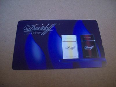 Davidoff Cigarettes On Used Phonecard From Japan