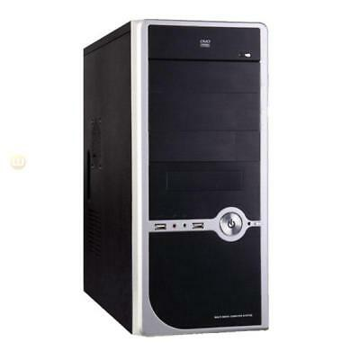 AMD FX 4300 3.8Ghz Quad Core, Mid Tower Case, 500W, Barebone Computer