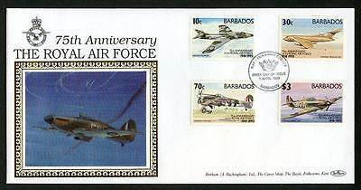 Barbados 1993 75th Anniversary of Royal Air Force cover (2013/11/18 #4)