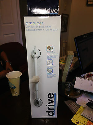 "Tub & Shower Adjustable Suction Grab Bar, 17.25"" to 22.2"", #13063S"