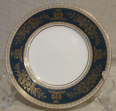 Wedgwood Columbia Blue /& Gold R4509 Bread Plate