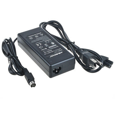 4 Pin 12V AC Power Adapter for Planar PL171M-BK LCD Monitor Charger Supply Cord