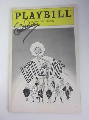 Orig Playbill Broadway Little Me James Coco 1982 Signed Lucie Arnaz COA Lucille