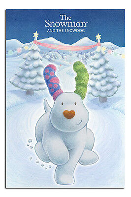 The Snowman And The Snowdog Large Wall Poster New - Laminated Available