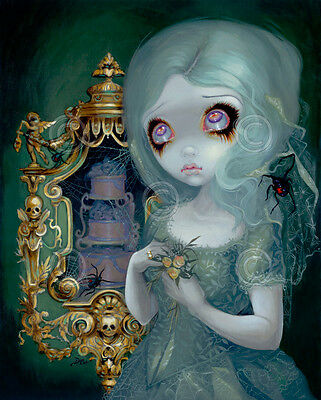 Portrait of Ophelia by Jasmine Becket-Griffith Gothic Art Print Poster 16x20