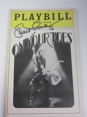 Orig Playbill Broadway On Your Toes 1983 Signed Lucie Arnaz COA Video Lucille