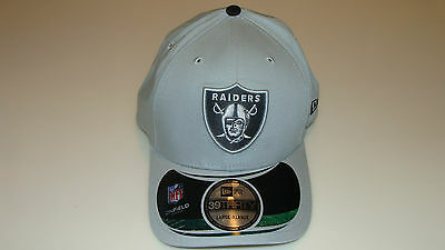 New Era Hat Cap NFL Football Oakland Raiders 39thirty L/XL Flex Thanksgiving