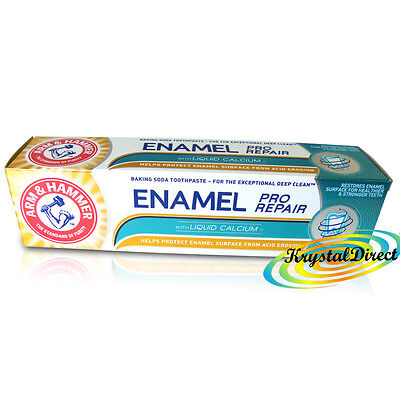 Arm & Hammer Enamel Pro Repair Whitening Baking Soda Toothpaste 75ml