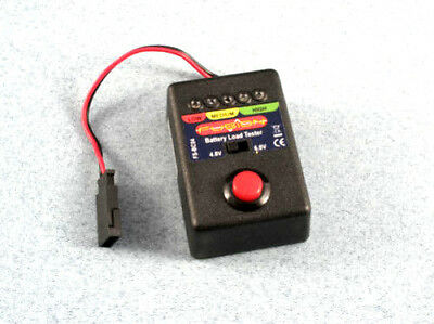 FUSION P-FS-BC04 Battery Load Tester 4.8v 6v NiCd NiMH Test For Bownouts rx cuts