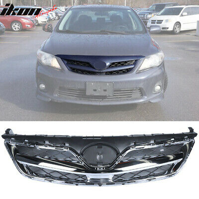 For 11-12 2011-2012 Toyota Corolla OE Style Chrome Front Grille Grill
