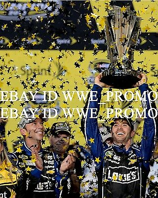 JIMMIE JOHNSON #48 LOWES 2013 NASCAR SPRINT CUP CHAMPION Picture 8X10 PHOTO #N19
