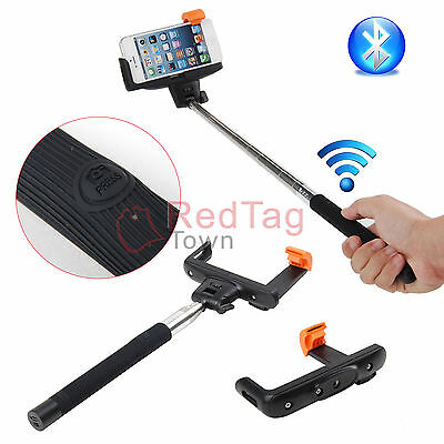 Bluetooth Wireless Extendable Self-portrait Monopod For IOS iPhone 6 5s 5C 5 4
