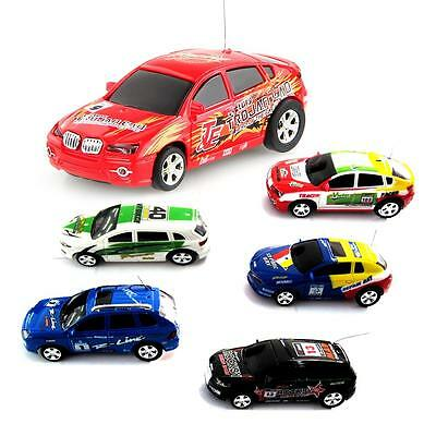 Coche Racing Mini Car RC Radio Control Colores Lata Cola