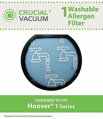 1 Hoover Windtunnel T-Series Washable Vacuum Pre Filter, Part # 303173001