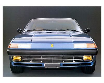 1982 1983 Ferrari 400i Factory Photo c8805