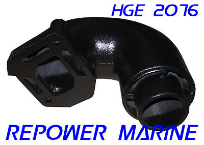 Exhaust Riser for Mercruiser 2.5 L, 3.0 L, 3.0 LX, Replaces #: 12076