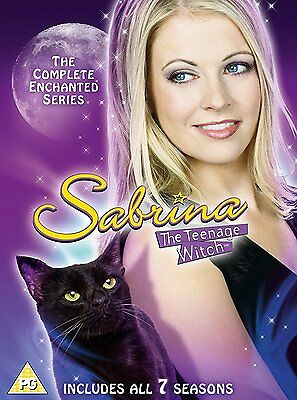 SABRINA,THE TEENAGE WITCH Complete Series 1-7 SEALED/NEW Seasons enchanted