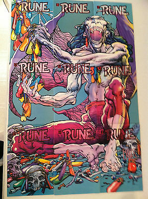 Rune crossover in Ultraverse titles -- SET of 11 with interlocking covers A-K