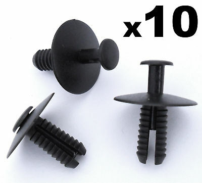 10x BMW Wheel Arch Lining Splashguard Rivet Trim Clip