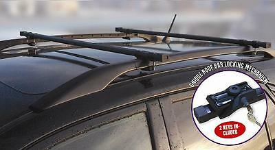 Citroen C3/c4/c5/picasso Locking Roof Bars For Cars With Rails Fitted