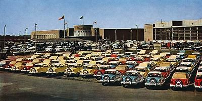 1958 Austin Metropolitan at Factory Shipping Dock Photo ua4501-GXZEDS