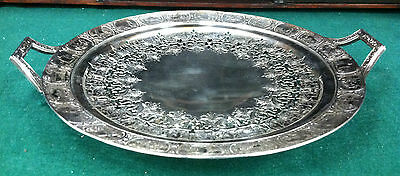 2 Vintage Silverplate Trays 18 Quot X12 5 Quot Wilcox Is Ashley