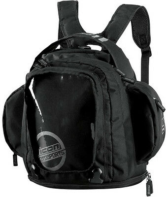 Mochila De Transporte Icon Urban Tank Bag Black