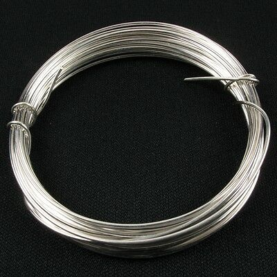 * Superior High Quality Non Tarnish Silver Plated Jewellery Craft Artist Wire *