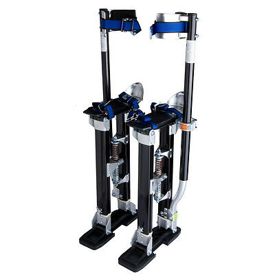 24-40 Inch Drywall Stilts Aluminum Stilt Tool For Painting Painter Taping Black