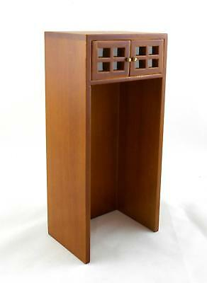 Melody Jane Dolls House Miniature Walnut Wooden Kitchen Fridge Freezer Housing