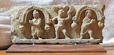 Greco-Kushan 3rd Century Frieze ——> EXQUISITE DETAIL & CRAFTSPERSONSHIP!!