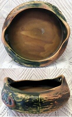 Roseville Imperial I Early 20Th Century Handled Bowl