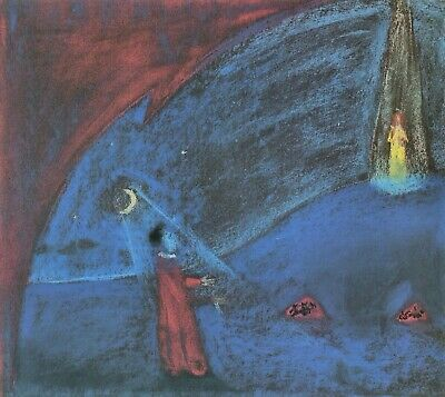 The dreaming boy II by Walter Gramatte Giclee Fine ArtPrint Repro on Canvas