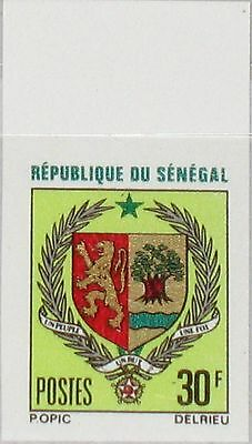 SENEGAL 1970 443 U 336 imperf Coat of Arms Wappen Staatswappen Lion Löwe MNH